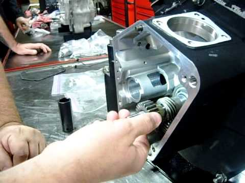 Part 05 Gearcase Camshaft Breather assembly on a Harley EVO motor