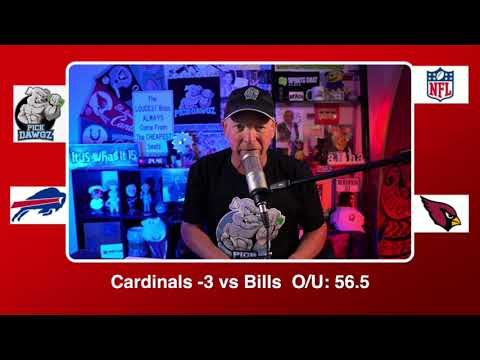 Arizona Cardinals vs Buffalo Bills 11/15/20 NFL Pick and Prediction Sunday Week 10 NFL PickDawgz