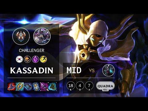 Kassadin Mid vs Ekko - KR Challenger Patch 10.19