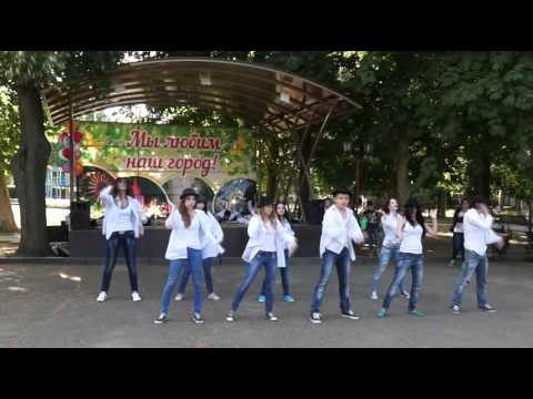 Видео, Флешмоб памяти Майкла Джексона, г. Армавир, 25.06.2014 год