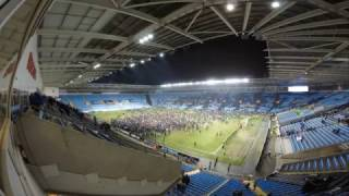 Coventry city vs Wycombe 7-2-2017 Time lapse