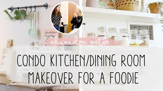 MAKING OVER A FOODIE'S DREAM COOKING SPACE | COOKBOOK STORAGE IDEAS
