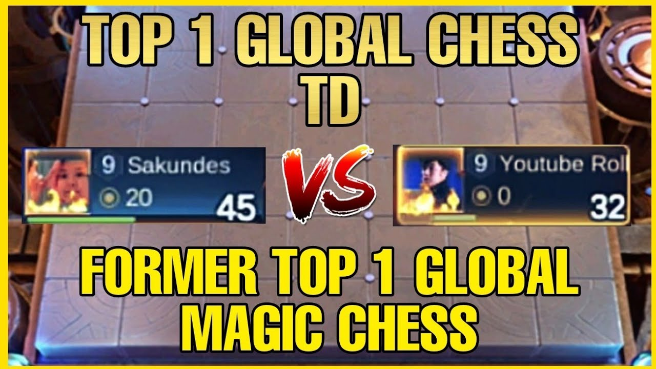 BATTLE OF TOP 1 GLOBAL | SAKUNDES VS ROLL3R - MAGIC CHESS MLBB