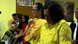 Tiny Indonesian Church Pray For Tsunami Victims On Christmas Day