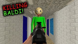 25 Ways to KILL BALDI'S BASICS! (Baldi's Basics in Education and Learning)