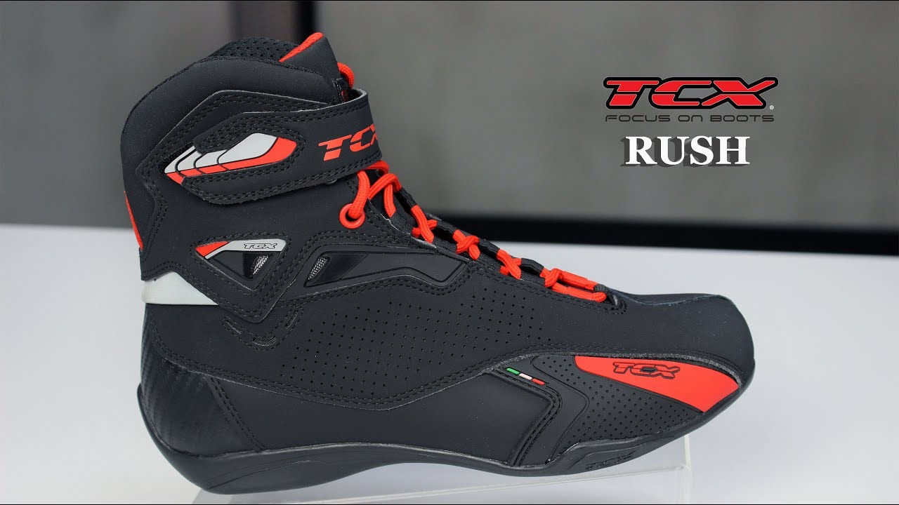 TCX Rush Motorcycle Boots Review ( Özen Tv )