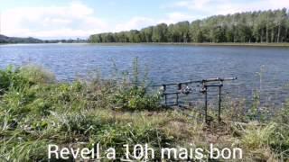 Peche a la carpe au lac de Monampteuil