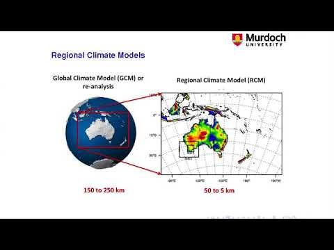 High Resolution Climate Modelling for Southwest Western Australia - Jatin Kala, Murdoch University