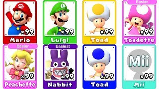 New Super Mario Bros. U Deluxe - All Characters thumbnail