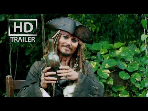 Pirates of the Caribbean 4 : On Stranger Tides  HD  trailer #1 US 2011 3D Johnny Depp
