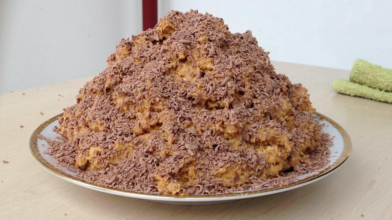 рецепт торт муравейник без духовки