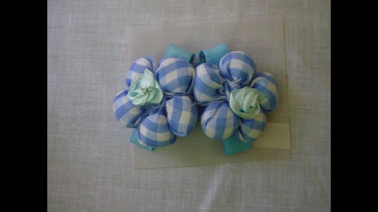 Tutorial flor redonda tela fabric flowers coleta con flores de tela youtube - Como hacer manualidades con tela ...