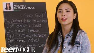 Anna Akana Creates the Playlist to Her Life | Teen Vogue