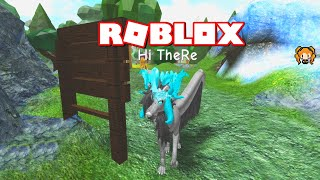 ROBLOX WOLVES LIFE BETA UPDATE Swimming Emote! Juvenile vs Pup and LOTS more HORNS!