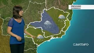 Previsão Sudeste – Muita chuva em Minas Gerais