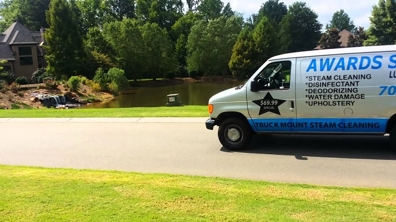 Carpet Cleaning Van, Charlotte Nc - YouTube