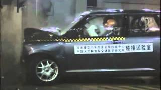 Lifan Smily crash test (Лифан Смайли краш тест)