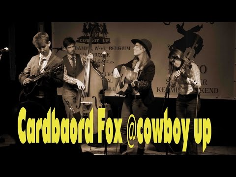 Cardbaord Fox @cowboy up  2015
