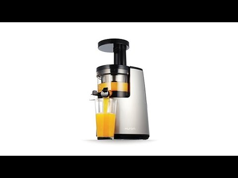 Hurom Slow Juicer Drying Rack : Hurom Elite SlowSqueeze Juicer with DvDs and Drying Rack - YouTube