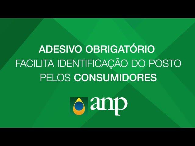 Adesivo obrigatório facilita identificação de posto por consumidores