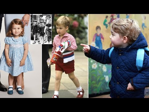 How Charlotte's nursery compares to that of George, William and Charles