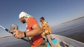 Рыбалка на реке Бузан. Дельта Волги.