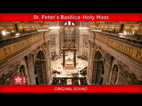 Pope Francis - St. Peter's Basilica- Closing Mass Synod of Bishops 2018-10-028