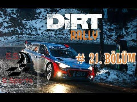 DİRT Rally - Carrier Mod - 21.Bölüm - Monte Carlo Monaco (Buzda Sürüş 4X4 le Güzel)