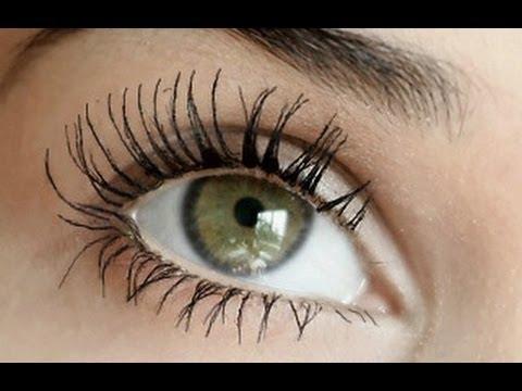 Make Ur Eyelashes Look Long Like False Lashes - YouTube