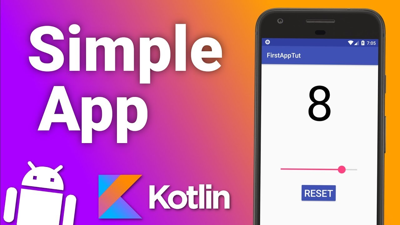 Make Your First Simple Android App with Kotlin (Android Kotlin Tutorial for Beginners)
