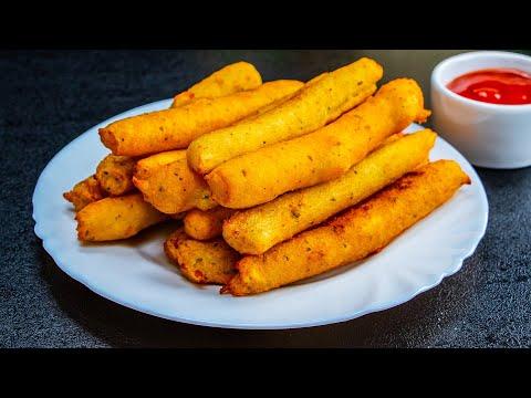 Originální recept na přípravu chutných bramborových kroket se sýrem!  Chutný TV