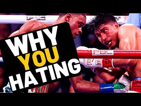 ALL ERROL SPENCE HATERS! Mikey Garcia lost GET OVER IT!