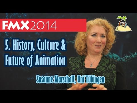 History, Culture and Future of Animation - Susanne Marschall FMX Interview