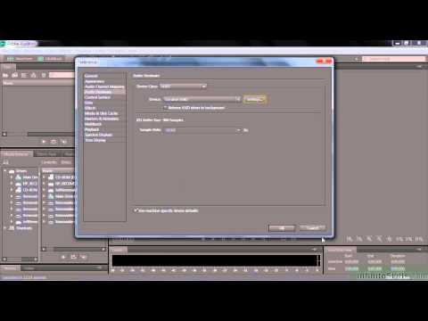Adobe Audition CC Tutorial  Setting Up Recording Hardware