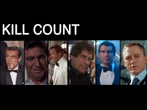 FILM COUNTS - James Bond Kill Count