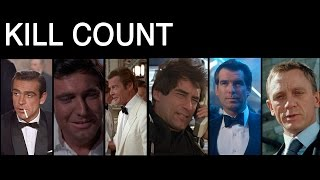 FILM COUNTS - James Bond Kill Count