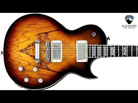 Wild Blues Rock | Guitar Backing Track Jam in A