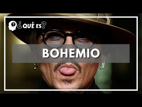 Qué es bohemio ? Significado de bohemio