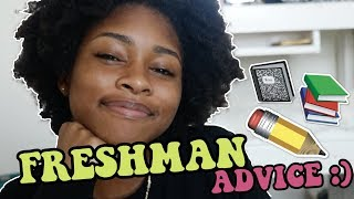 FRESHMAN YEAR ADVICE (HIGH SCHOOL ADVICE | 9TH GRADE)