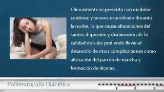 Con 1 mellitus diabetes diabética tipo polineuropatía
