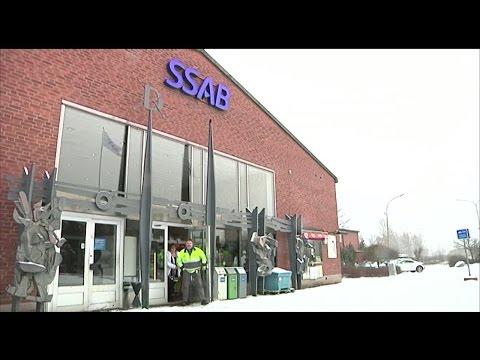 Hundratals på SSAB varslas om uppsägning - Nyheterna (TV4)