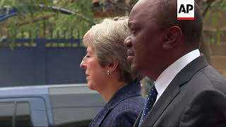 May attends various events during visit to Kenya