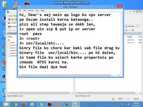 oscam install on any Vps server360p
