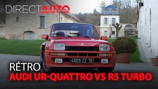 AUDI UR-QUATTRO vs R5 TURBO : On refait le match !