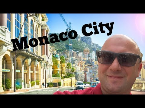 Walking around Monaco