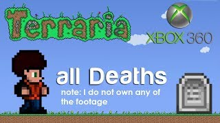 Terraria Xbox - Stampy all Deaths [Compilation]