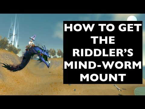 How to Get the Riddler's Mind-Worm Mount (UPDATES IN DESCRIPTION!) | WoW Mount Guide