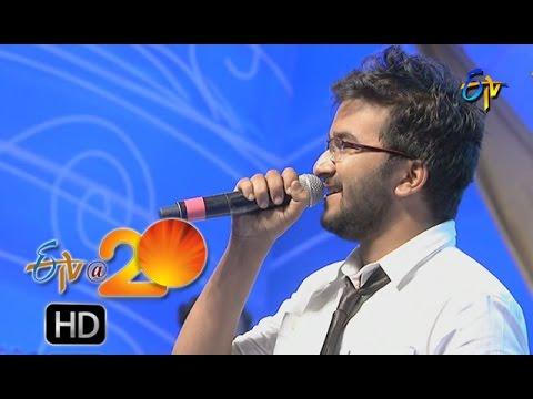 Prudhvi Chandra Performance - Crazy Feeling Song in Karimnagar ETV @ 20 Celebrations