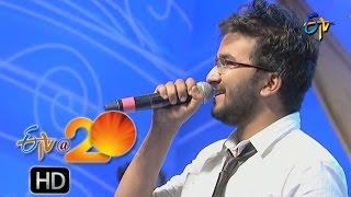 Prudhvi Chandra Performance Crazy Feeling Song In Karimnagar Etv @ 20 Celebrations
