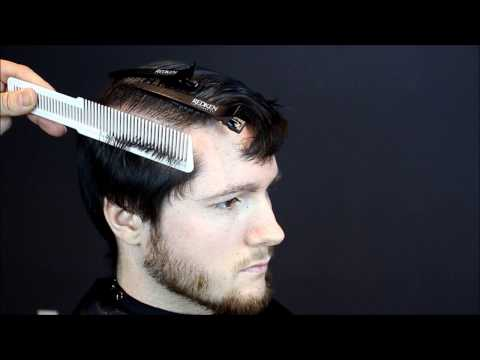 How to cut mens hair short back and sides with clipper over comb Full Tutorial.